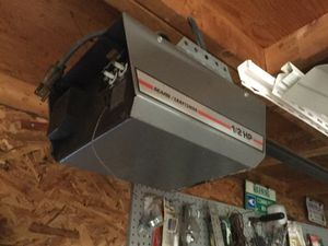 Sears/craftsman garage door opener 1/2 hp for Sale in Cary, NC
