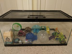 Small Animal Cage with necessities for Sale in Montgomery, AL