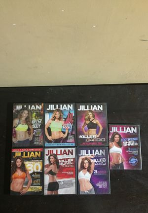 7 work out routine dvds for Sale in Rancho Dominguez, CA