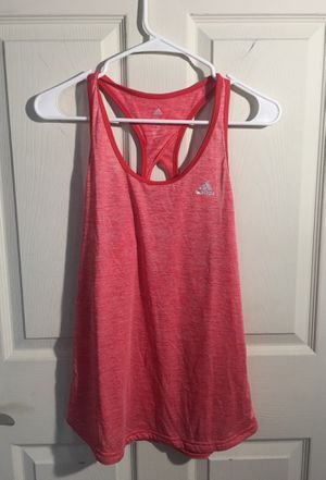 Adidas tank top running workout lifting weight training women size Large for Sale in Cleveland, OH