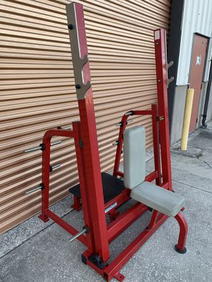 RARE Magnum Break Away Shoulder Press Olympic Weight Bench for Sale in Davenport, FL