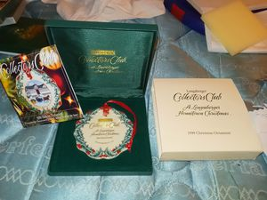 1999 Longaberger collectors club Hometown Christmas for Sale in Winchester, VA