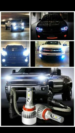 Led headlight bulbs and hid conversion lights kit- any ride dodge ram charger lexus gs300 nissan gmc Sierra scion any truck car for Sale in Scottsdale,  AZ