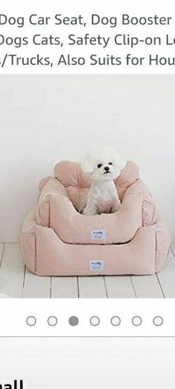 Pink Dog Bed/booster Seat for Sale in Reynoldsburg,  OH