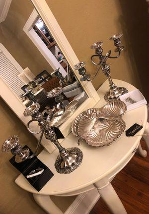 Vintage heavy candelabras for Sale in Valdosta, GA