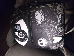 Brand new Nightmare Before Christmas backpack purse still has packing inside and straps across the straps for Sale in Waterbury, CT