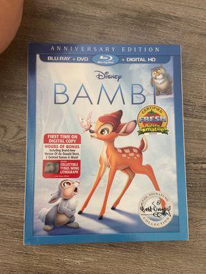 Disney Bambi Blu-ray DVD for Sale in Whittier, CA