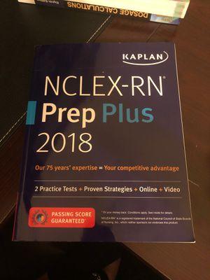 NCLEX-RN prep Plus 2018 for Sale in Sanford, FL