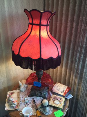 Red lamp for Sale in San Diego, CA