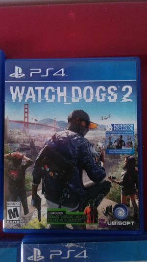 WatchDogs 2 very kool game was 2 hard son couldnt do much its 40 in stores ill take 25 for Sale in Nashville, TN