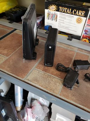 Wifi router and modem for Sale in Lake Elsinore, CA