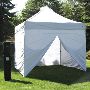 10' x 10' Commercial Instant Canopy with Zippered Wall Enclosure for Sale in New York, NY