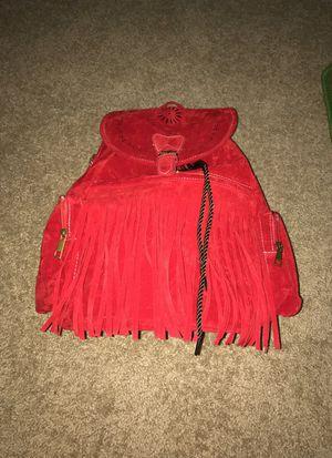 Red fringe backpack for Sale in Philadelphia, PA