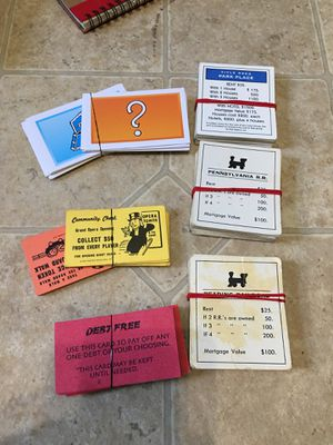 Extra monopoly pieces for Sale in Florissant, MO