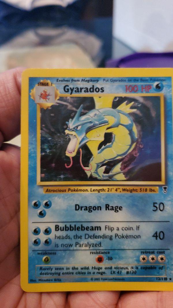 Pokemon Card Gyarados Holo (Ledgendary Collection) Near Mint Condition