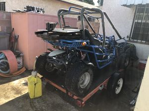 go kart for adults 150cc 2 seater it fun for off-roading or to be in farms $1300 it comes with a trailer lmk when ur ready to pick up or trade for a for Sale in East Los Angeles, CA