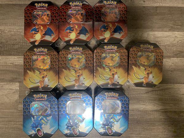 Pokemon Trading Card Hidden Fates Tin *Sealed*