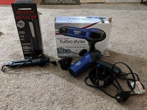 Hair dryer and straightener for Sale in North Attleborough, MA
