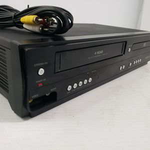 Magnavox DV220MW9 DVD VHS Combo Player 4-Head ●●TESTED●● No Remote for Sale in Downey, CA
