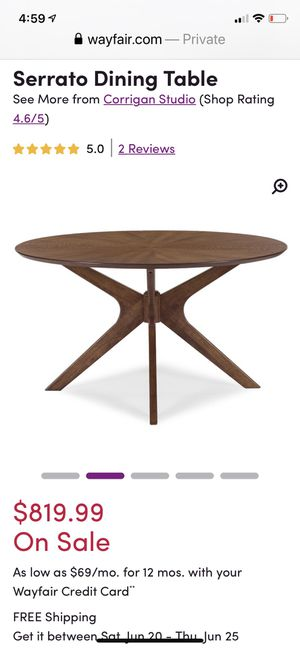 Modern Dining Table for Sale in Las Vegas, NV