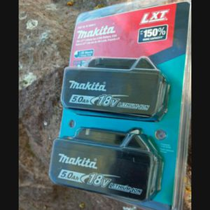 MAKITA 18V 5.0AH BATTERIES NEW NUEVO 💥💥💢💥💢 for Sale in Torrance, CA