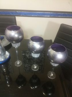 3 pc candle holder set for Sale in Peoria,  IL