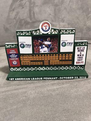 Texas Rangers collector Figurene for Sale in Amarillo, TX