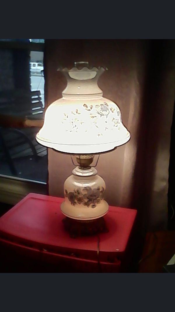 Antique lamps x2