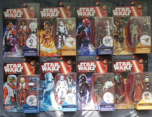 8 - Star Wars - The Force Awakens - 3 3/4 Action Figure Collection for Sale in Oakdale, CA