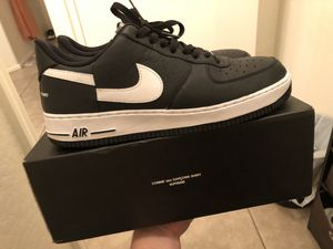 Air Force 1 low supreme x comme des garcons (CDG) size 11.5 for Sale in Tolleson, AZ