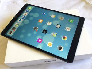 iPad Air 1, Cellular and WI-FI internet access, Factory Unlocked, Useable with WIFI and SIM, Excellent Condition. for Sale in VA, US