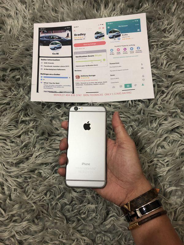 iPhone 6 Unlocked 5 stars 64gb
