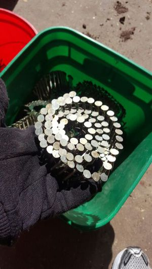 1 1/2 incg Galvanized coil roofing nail for Sale in Medford, MA