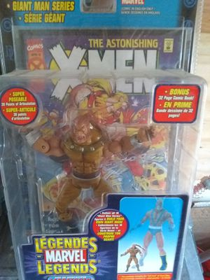 Marvel Legends Age of Apocalypse Sabertooth for Sale in San Antonio, TX