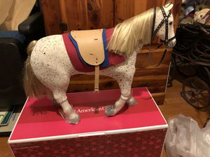 American Girl Doll Saige Horse New with Saddle Picasso for Sale in Fredericksburg, VA