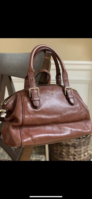 Kate spade handbag cognac color for Sale in Auburn, WA