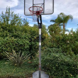 Basketball Hoop - New Net! for Sale in Rancho Santa Fe, CA