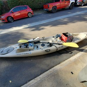 Kayak 13.5 ft Lots Of Extras for Sale in Santee, CA
