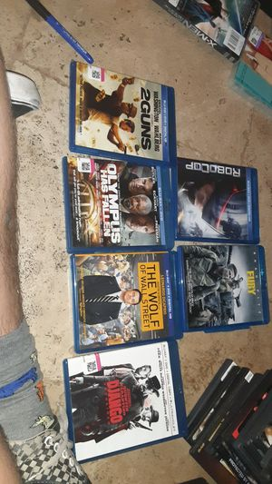 Blu ray movies for Sale in Mesa, AZ