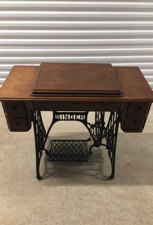 Antique Singer sewing machine cabinet for Sale in Pflugerville, TX