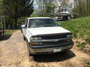 Looking for a 3.5 turbo motor for a 2011 Ford F-150 and the white Chevy is for sale for Sale in Weston, WV