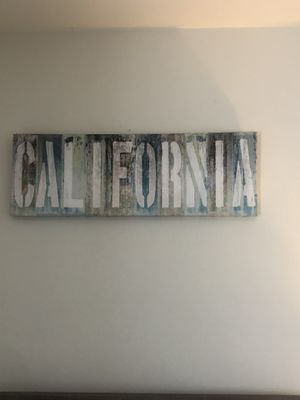 California wall decor for Sale in Newport Beach, CA