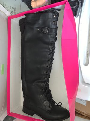 Over the knee Boots (Justfab) Sz 7 for Sale in Norfolk, VA