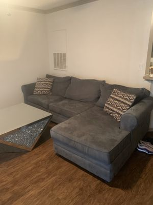 Couch for sale table included or not if you dont want it for Sale in North Miami Beach, FL