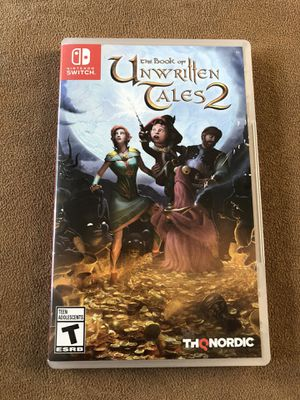 Nintendo Switch Game- Unwritten Tales 2 for Sale in Corona, CA