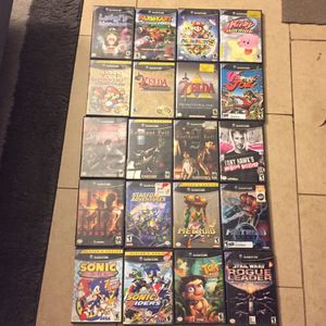 """Nintendo GameCube Games """"prices vary"""" for Sale in Garden Grove, CA"""