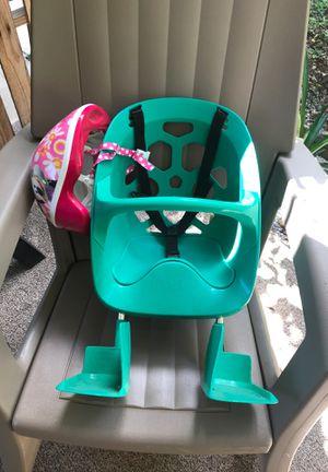 Child bike seat for Sale in Fort Pierce, FL