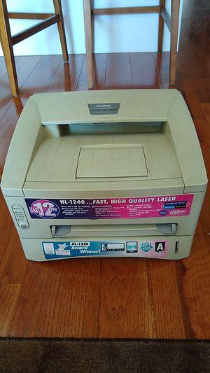 B&W Laser Printer, Brother HL-1240 for Sale in Philadelphia, PA