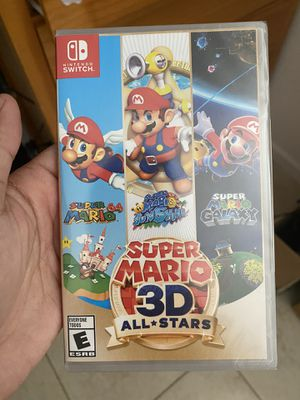 Nintendo Switch game Mario all stars new sealed for Sale in Miami, FL