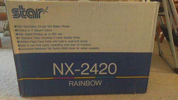 STAR NX 2420 RAINBOW PRINTER